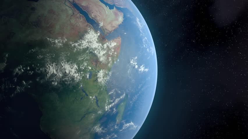 Rotating Earth Globe HD - HD stock footage clip