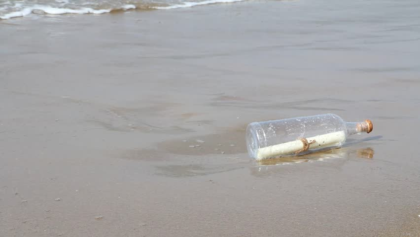 Header of Message in a Bottle