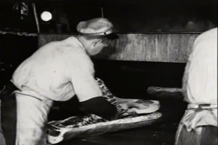 1920s - Meat production in 1921.