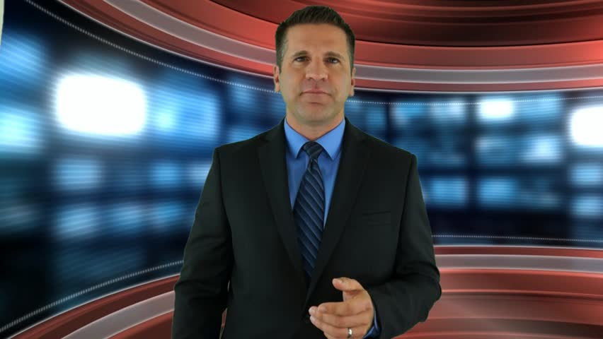 A Newscaster Introduces a Professional Limo Service