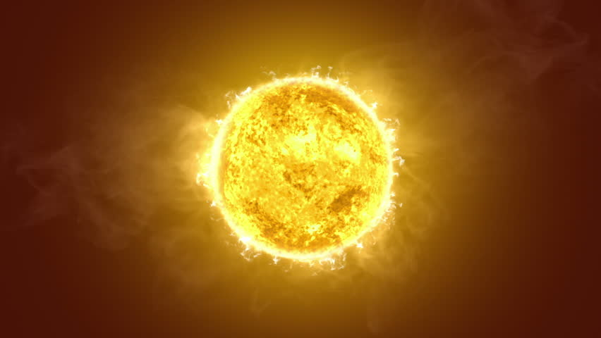 Highly realistic sun surface with flares. 2 shots in 1 file. Yellow. More options in my portfolio.