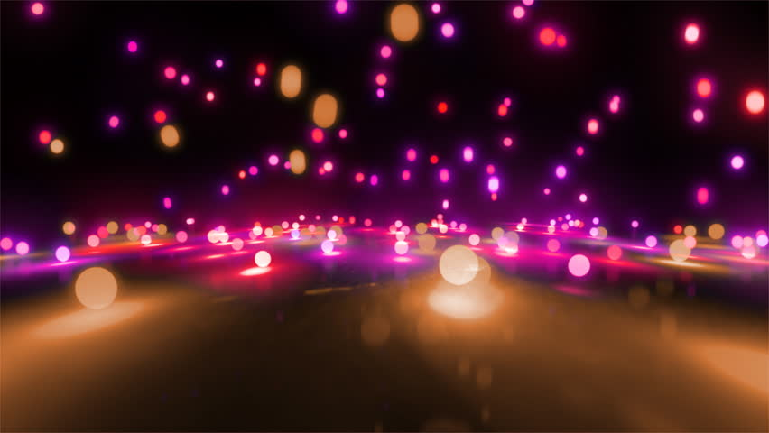 Colorful light balls background can be use for any fashion and concert theme. | Shutterstock HD Video #4198444
