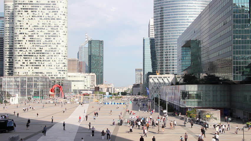 Skyscrapers in La Defense, Paris France #4217245