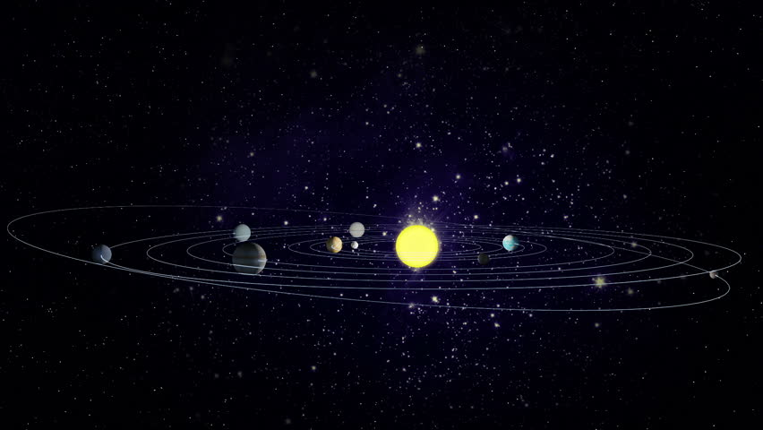 spinning solar system animation - photo #12