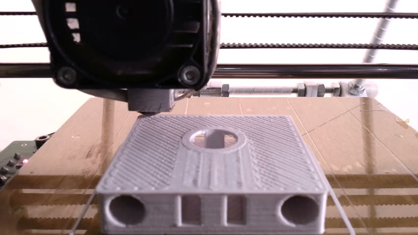 Printing with Plastic Wire Filament on 3D Printer