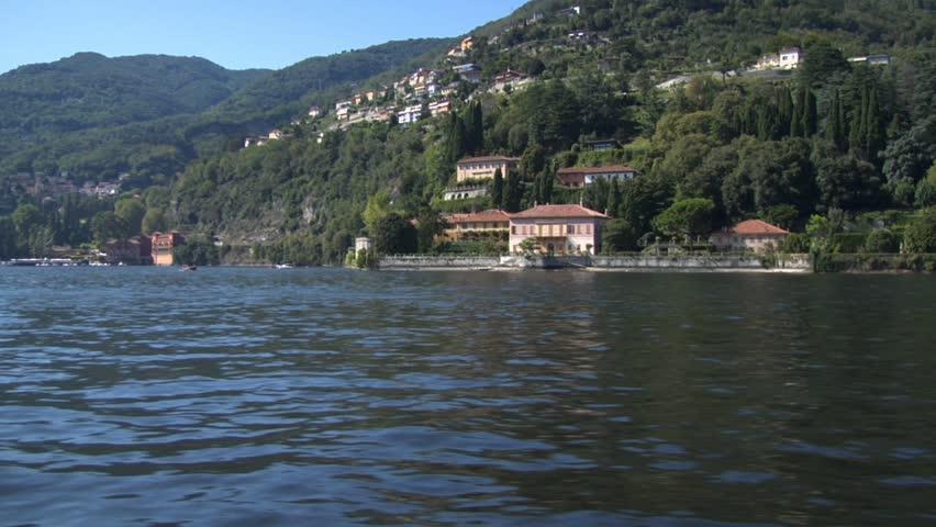 A villa in Cernobbio - Lake Como (Italy)   Shutterstock HD Video #439153