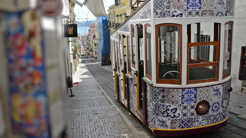 Lisbon classic tram