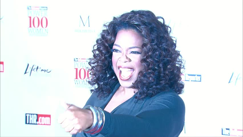 BEVERLY HILLS - December 5, 2008: Oprah Winfrey at the Hollywood Reporter's Women In Entertainment Breakfast 2008 in the Beverly Hills Hotel in Beverly HIlls December 5, 2008