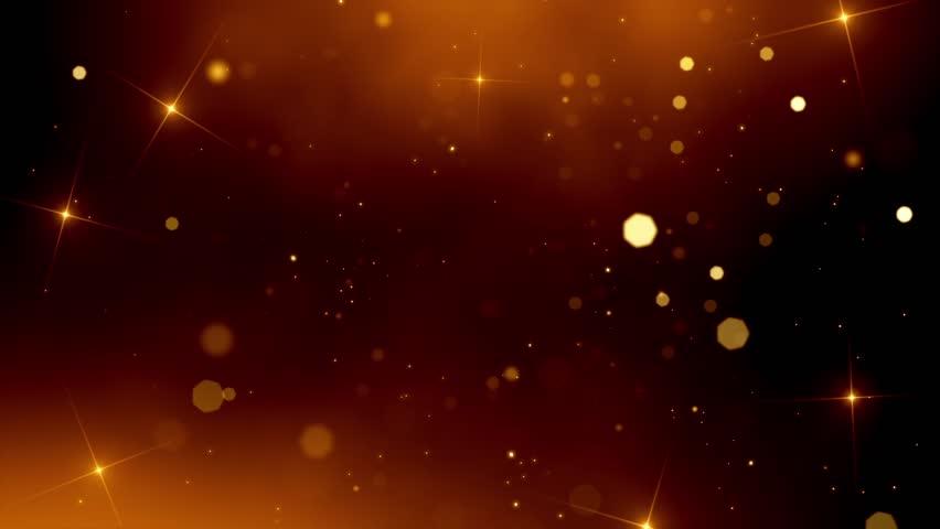 Flickering Particles Loop - Gold.
