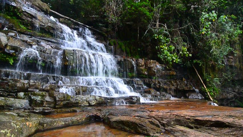 Waterfall Malaysia Pahang Waterfall in Pahang