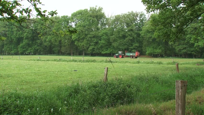 Application of organic manure in agriculture