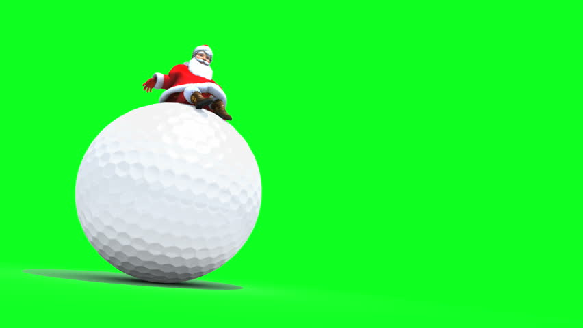 golf balls rolling  sport background  seamless video  stock footage video 9167330