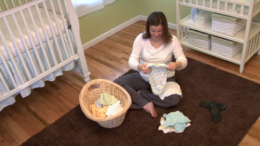 Pregnant woman planning for her baby