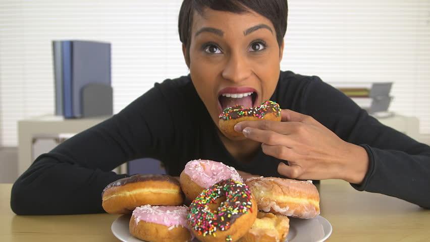 Donut Eating