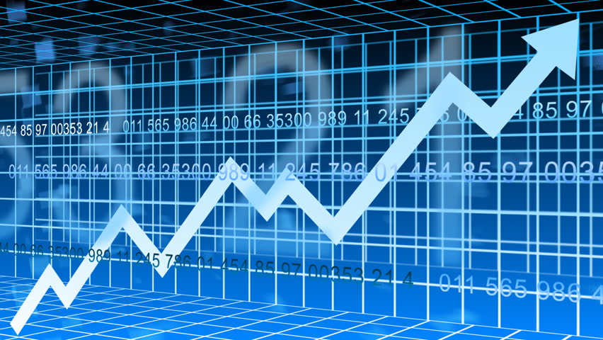 World stock market animation  - HD stock footage clip
