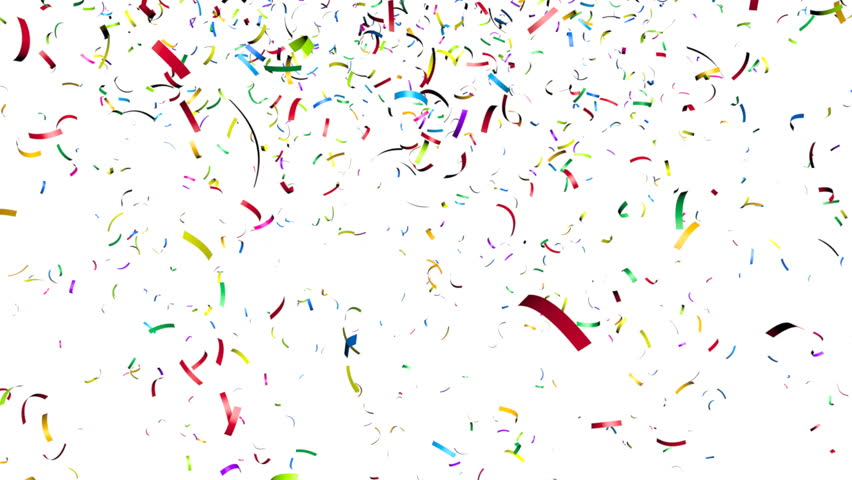 Confetti Falling Animation Of Co...