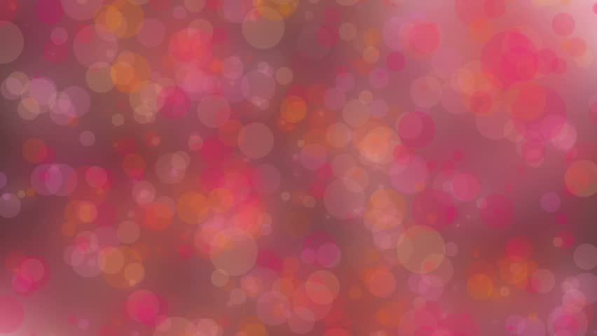 Pink and orange abstract background animation loop