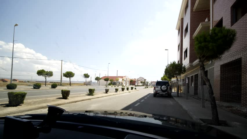 Timelpase Sequence Driving arround spain roads in europe - Full HD movie