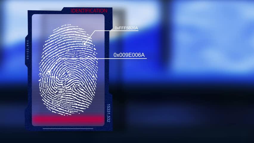 Loop scanner fingerprint