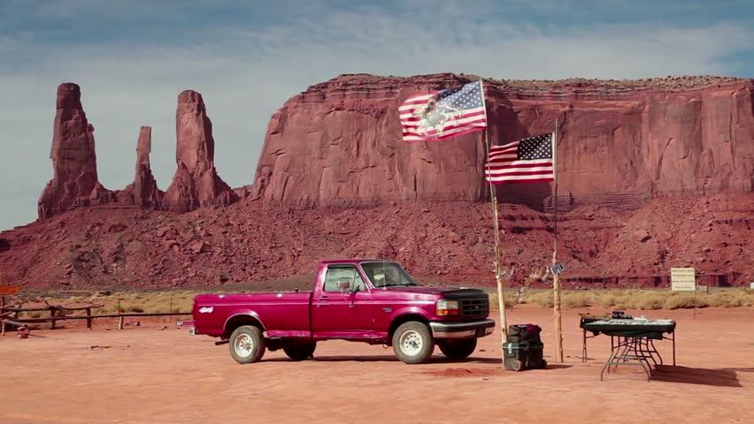 Monument Valley Usa Circa