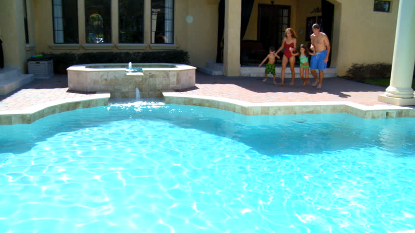 Luxury Pool In The Mountains Stock Footage Video 1196125 Shutterstock
