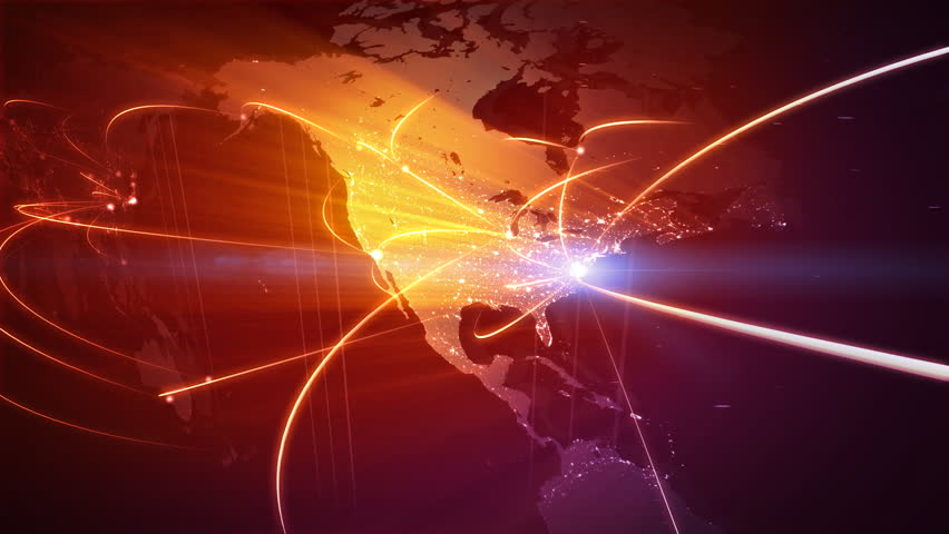 Global business network. Loop | Shutterstock HD Video #581695
