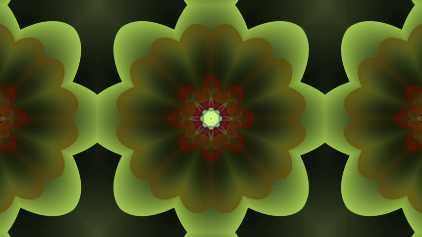 Crazy flowers kaleidoscope multicolor - 1080p Crazy flowers kaleidoscope shapes. Use for background, textures and transitions - Full HD - HD stock footage clip