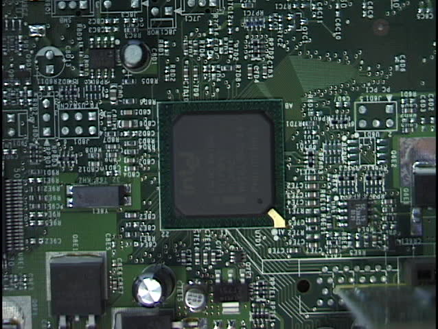 Computer Processor and Motherboard | Shutterstock HD Video #62098