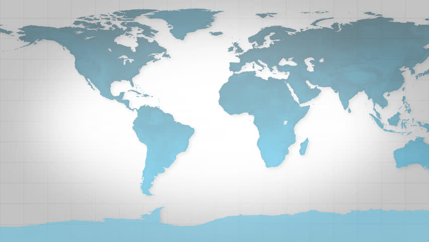 Blue map of the world, good background