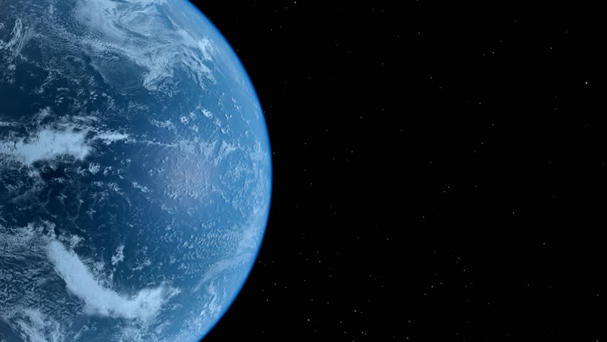 high detailed earth - seamless loop - HD stock video clip
