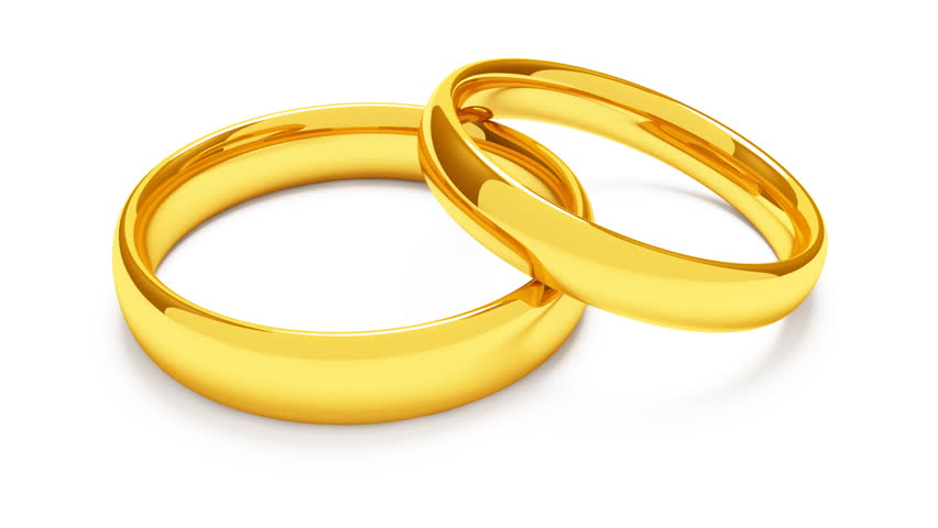 Two Metal Wedding Rings