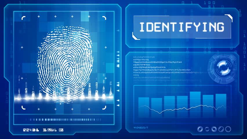 Fingerprint scan