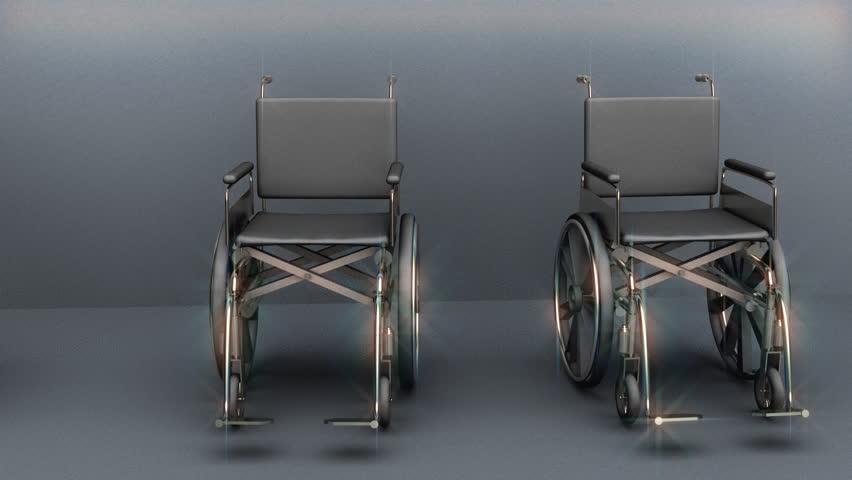 Wheelchairs handicap concept | Shutterstock HD Video #646963