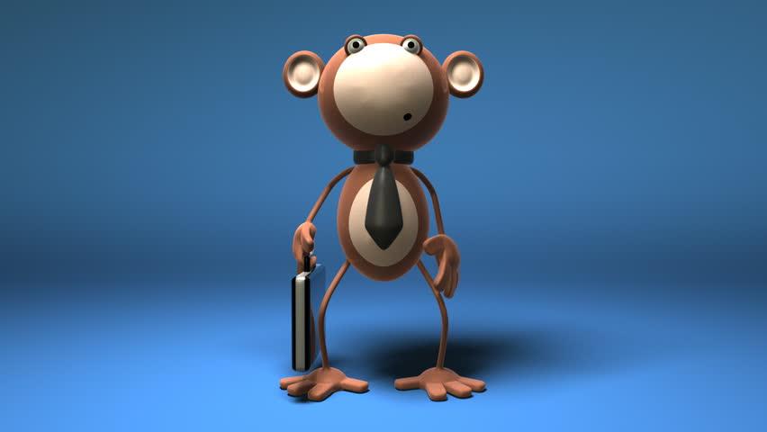 Monkey business - HD stock video clip