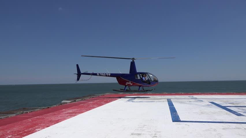 Atlantic City New JerseyUSA  June 02 2014 Helicopter Tour Operator On Jun