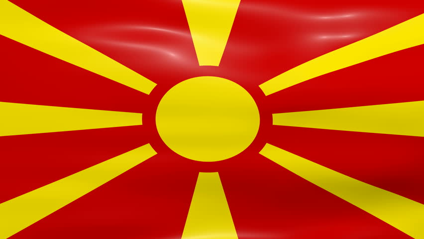 Macedonian Flag In The...