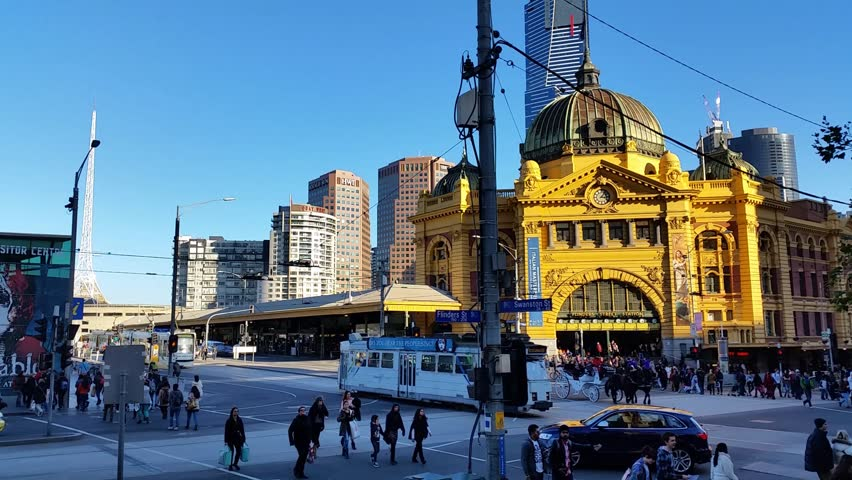 Melbourne City Victoria Australia - Flinders Street station