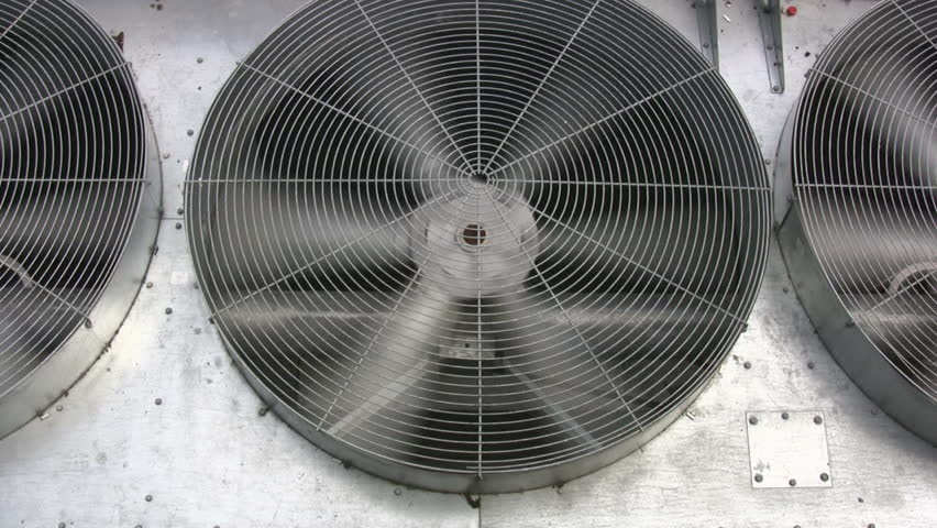Industrial Air Conditioner And Ventilation Installation In