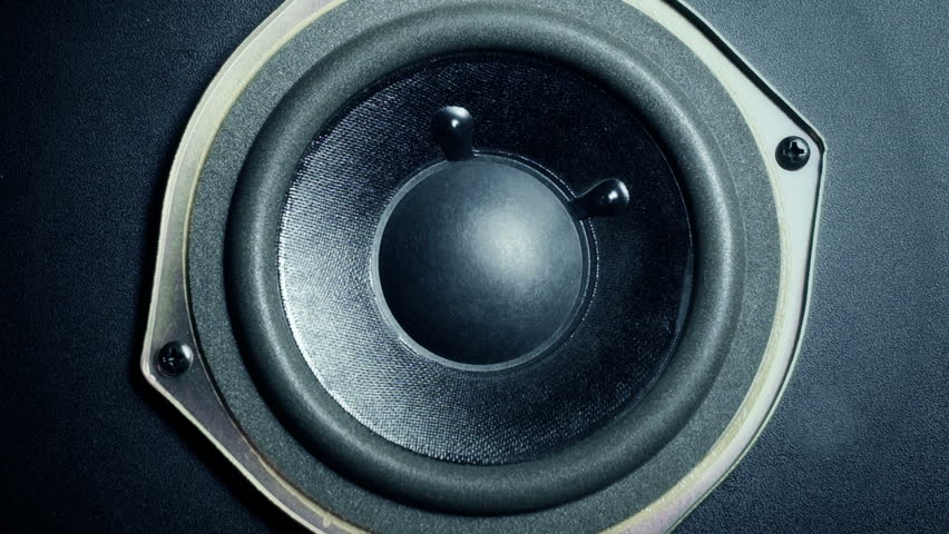 Subwoofer Footage | Stock Clips