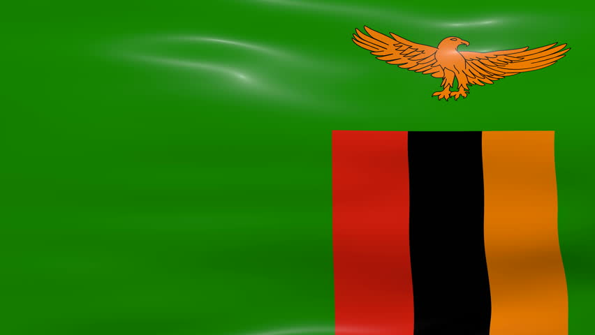 Zambia Flag Loop 2 Stock Footage Video 1371136 - Shutterstock