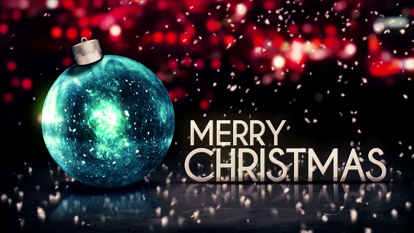 50 Beautiful Merry Christmas And Happy New Year Pictures: Merry Christmas Happy New Year Colorful Baubles Background
