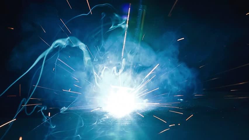 welding - HD stock video clip