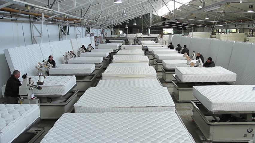 Temuco chile rosen mattress factory a group of for Mattress factory