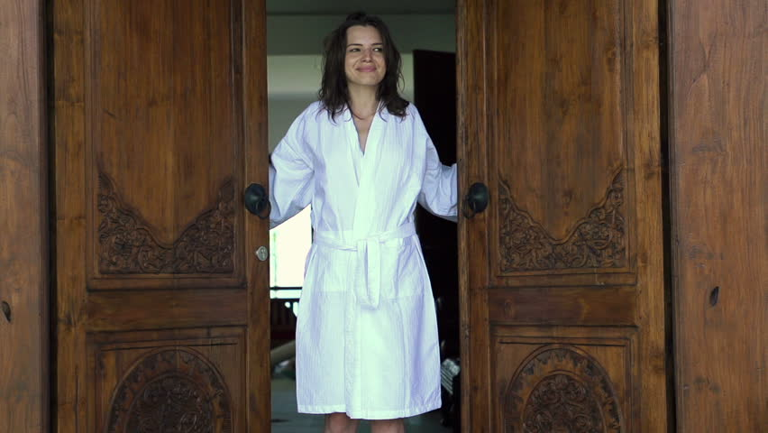 Opinion you Sex vidoes women door robes remarkable message
