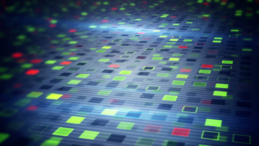 Beaming squares. computer generated loopable technology seamless loop motion background