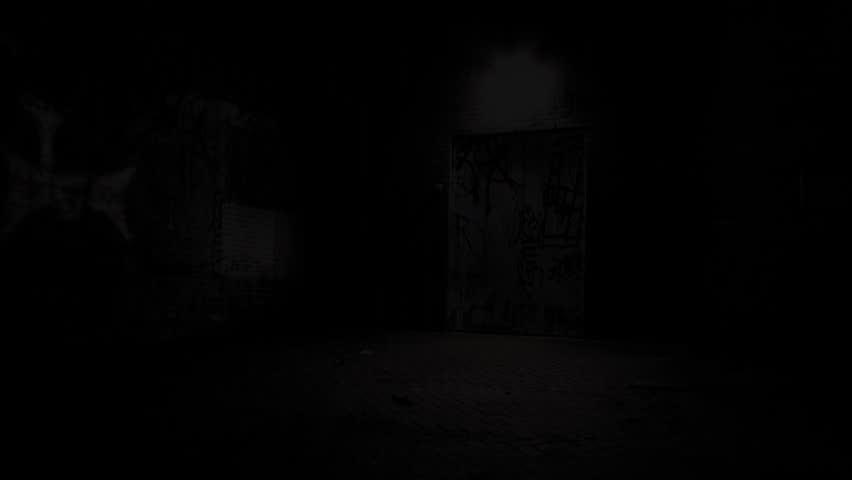 Mysterious alleyway