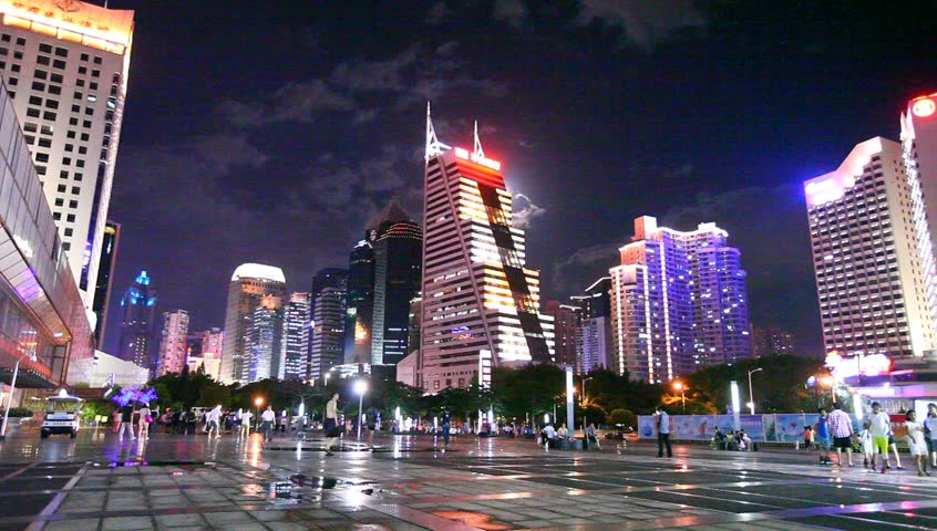 Shenzhen China Oct 20 Kingkey Financial Center Kk100