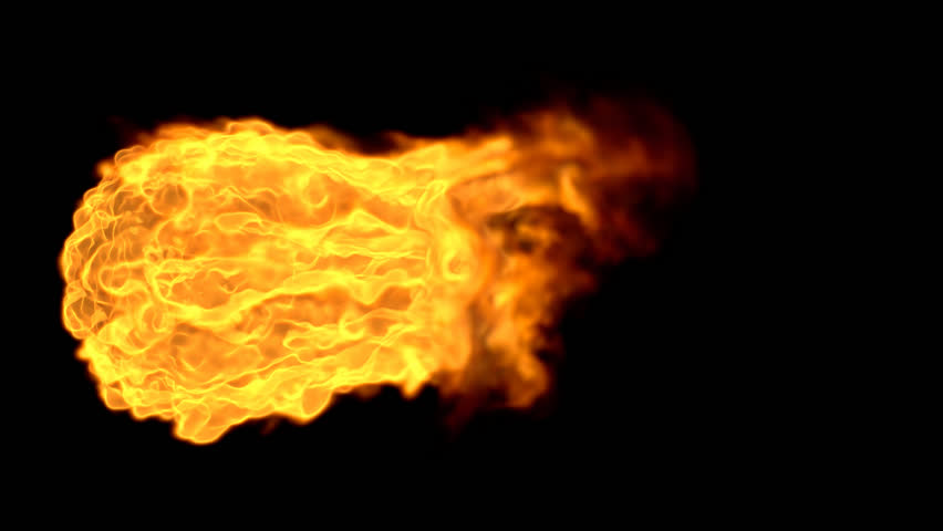 Fireball Explosion with Alpha Channel
