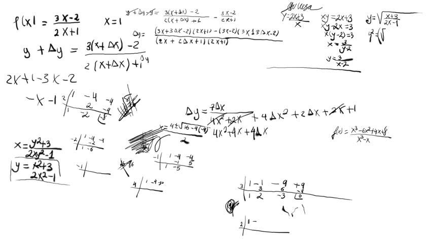 Math Equations Scribbling  Design Element
