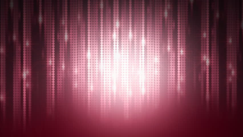 Pink background with a pattern from hanging down chains with effect of illumination, vj - HD stock footage clip